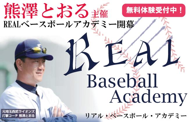 Real. Baseball. Academy